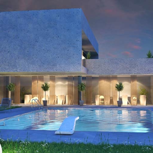 Pool - piscina 3d - fststudio