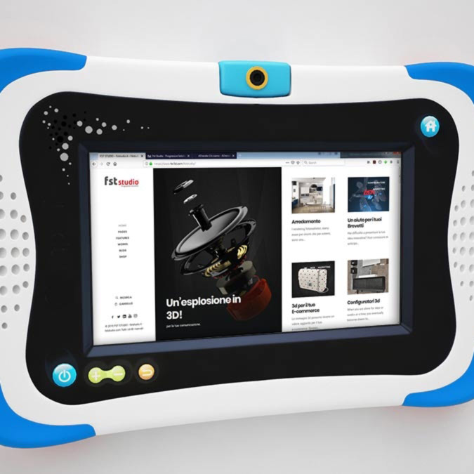Tablet cover 3d - fststudio