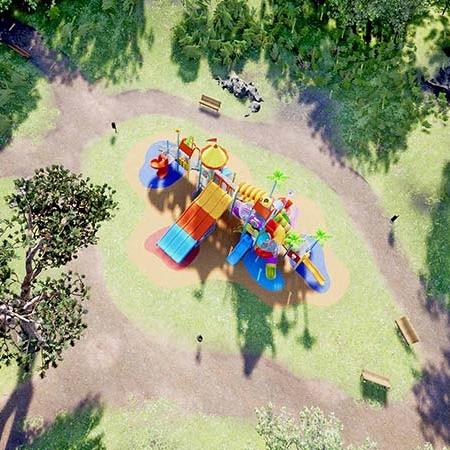 Realtà Virtuale di un Parco Giochi